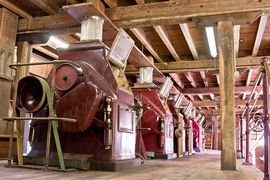 Porcheres, Γαλλία: Machines de minoterie