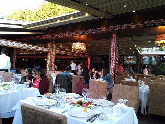 Nanna Restaurant: Bahçe katından genel bir görünüm.