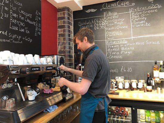 Weston Museum: Clara's Cafe