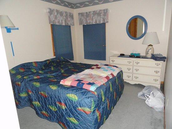 Nelson's Travelers Rest: blue bedroom