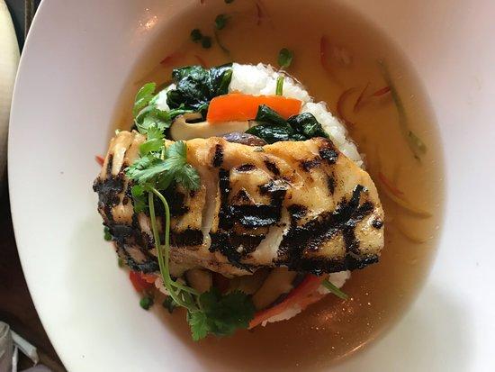 Tusker House Restaurant: Chilean Sea Bass