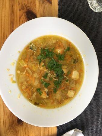 Bistro Praska Mniam&Yum: zupa rybna