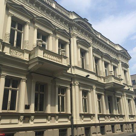 Piotrkowska Street: Druga z willi Ludwika Meyera obecnie Poczta