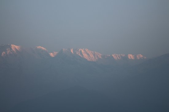 Sarangkot: soleil levant