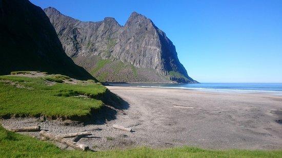 Fredvang, Norge: Kvalvika