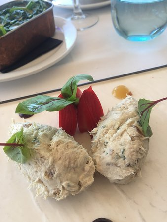 The Harbour Bar & Restaurant Marbella: Smoked mackrel pate