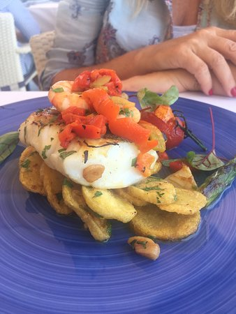 The Harbour Bar & Restaurant Marbella: Cod Pil pil - bacalao