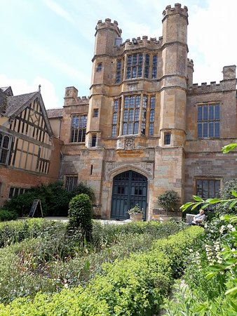 Coughton Court: Back Of property