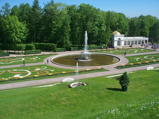 พระราชวังและสวนปีเตอร์ฮอฟ: interno