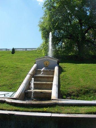 พระราชวังและสวนปีเตอร์ฮอฟ: cascate