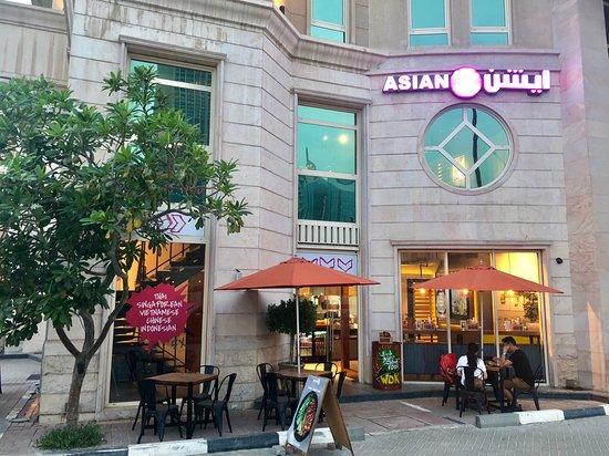 Asian5 Downtown: Exterior
