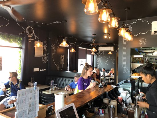 Flight Cafe: a view from inside