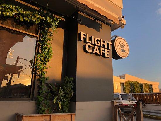 Flight Cafe: Sunset on Flight café