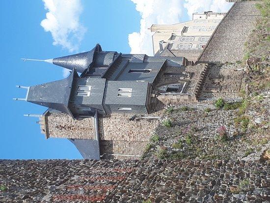 Granville 360°: Enceinte fortifiée de la Haute ville de Granville