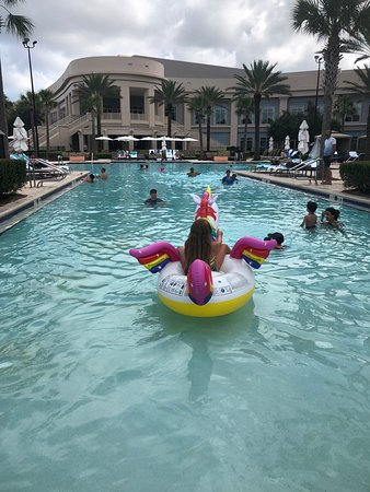 Waldorf Astoria Orlando: Jannah having fun