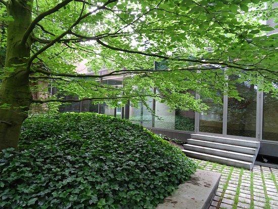 Noordbrabants Museum: tuin; Noord Brabants Museum Den Bosch