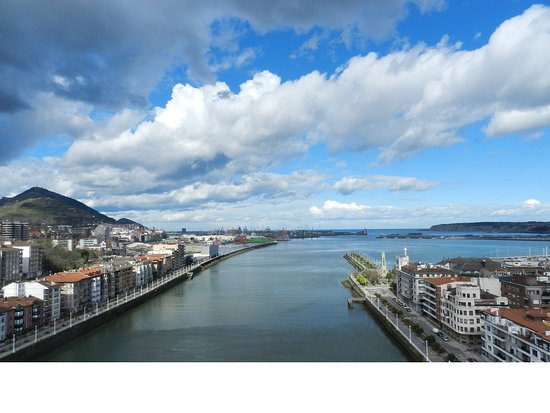 Puente Colgante Vizcaya: Вид с моста
