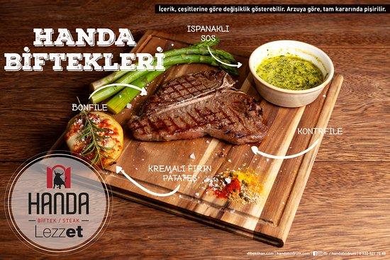 Handa Biftek/Steak: T-Bone