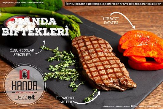 Handa Biftek/Steak: Biftek