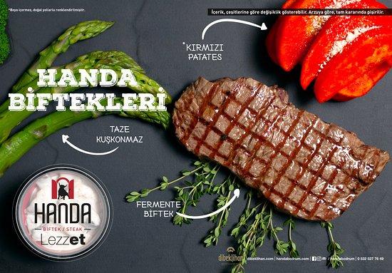 Handa Biftek/Steak: Bonfile
