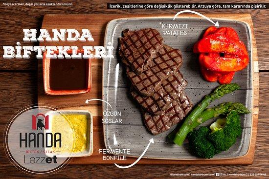 Handa Biftek/Steak: Burrata