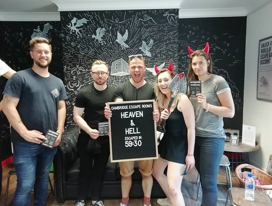 Cambridge Escape Rooms: Heaven & Hell: Revived just in time!!