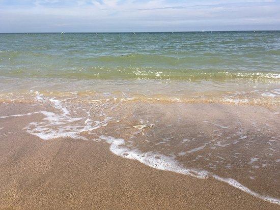 Hôtel Outre-Mer: Plage de sable blond de Villers sur Mer