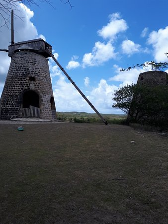 Starfish Jolly Beach Resort: Betty's Hope Historic SugarPlantation