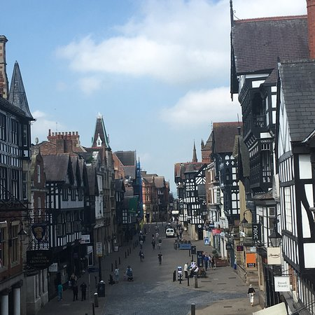 Walls of Chester Fotografie
