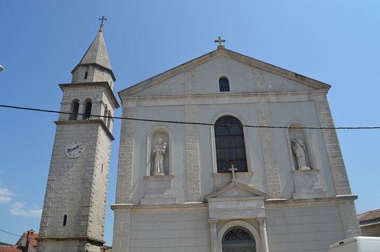 Beram - Churc of St. Martin & the Church Tower