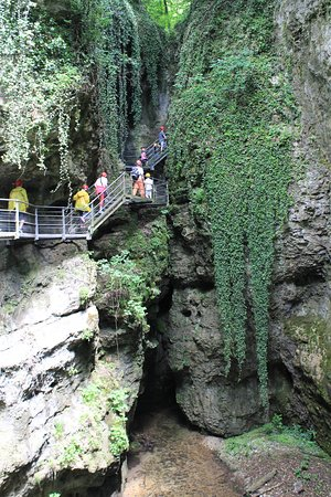 Canyon Rio Sass : Il nostro gruppo in marcia