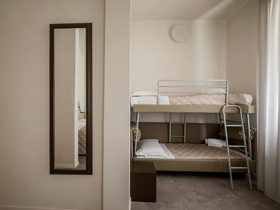 Letto A Castello A Rimini.Vista Del Letto A Castello Picture Of Hotel Belvedere Mare