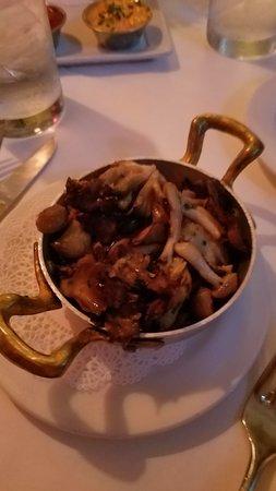 Zinc Bistro: The Shitake mushrooms.