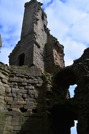 Dunstanburgh Castle: Oberer Treppenturm