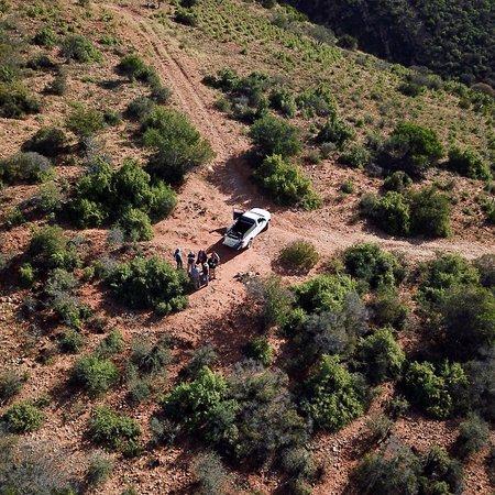 Baviaanskloof Nature Reserve, Νότια Αφρική: The Airstrip and the farm land