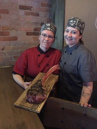 The 2 Grands Piano Bar and Steakhouse: Tomahawk Streak - Our house feature