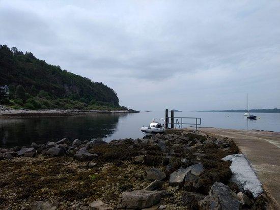 The Rib at Port Appin pier