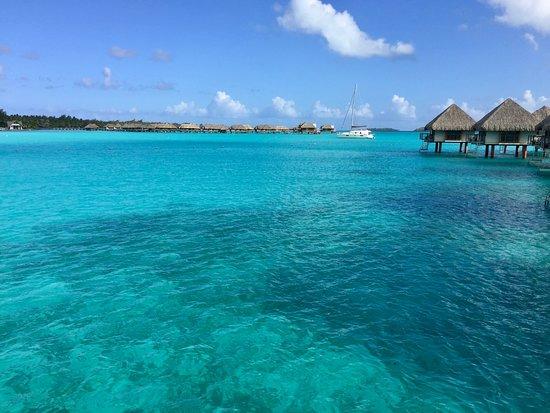 Le Meridien Bora Bora : View from deck