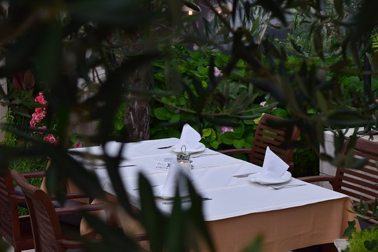 Restaurant Riva: intimate and charming setting