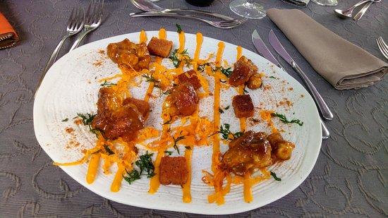 Le Nostradamus: Riz de veau, sauce orange