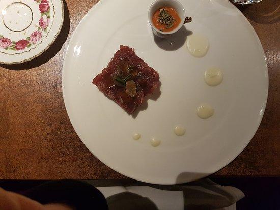Reggiolo, Italie : tartare di tonno