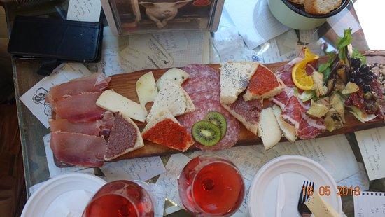 La Prosciutteria - Bologna : Nice food
