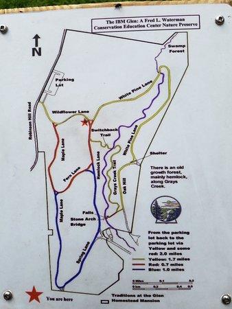 Johnson City, NY: Next-door Glen Nature Preserve Trails
