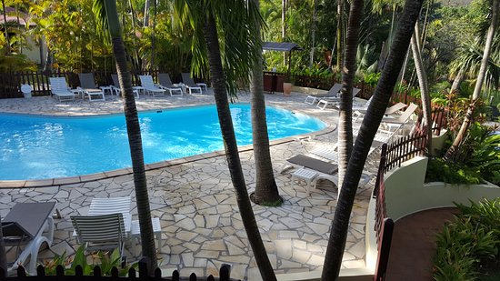 Habitation Grande Anse: The hotel pool