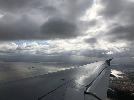 TAP Air Portugal: the view from my seat