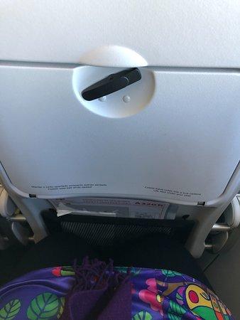 TAP Air Portugal: the leg room
