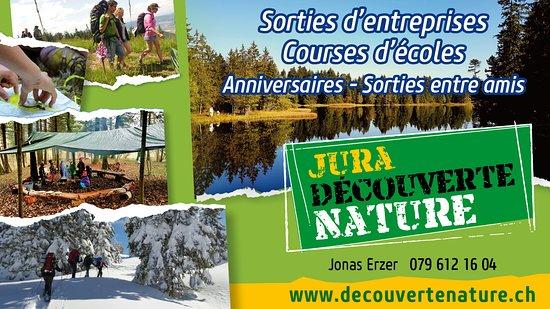 Delemont, Switzerland: Activités Jura Découverte Nature