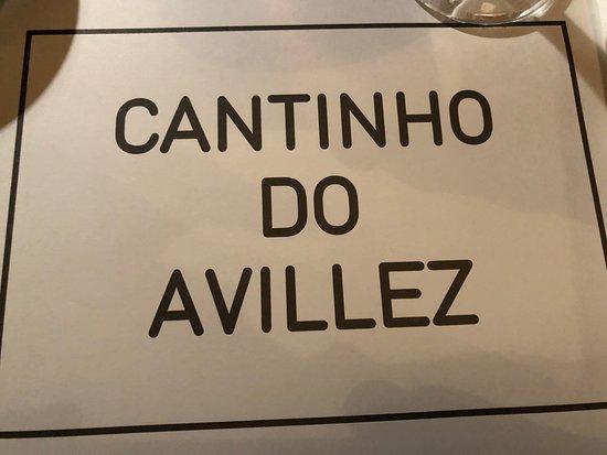 Cantinho Do Avillez - Porto: cardápio
