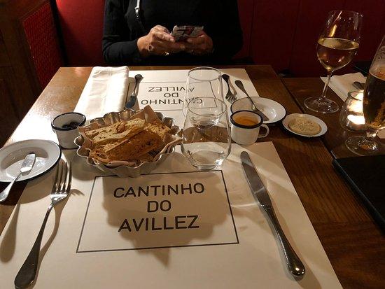 Cantinho Do Avillez - Porto: entrada