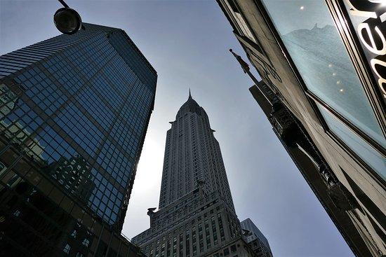 Chrysler Building: The Chrysler from Lexington